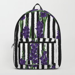 Gladiolus - Birth Month Flower for August Backpack