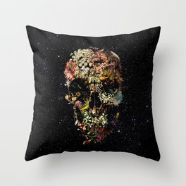 Smyrna Skull Throw Pillow