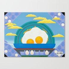 Sunny Up (On The Range) Canvas Print