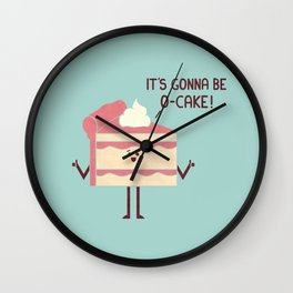 O-Cake Wall Clock