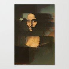 Mona Glitcha Canvas Print