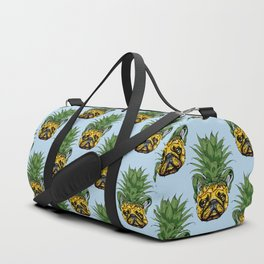 Pineapple French Bulldog Duffle Bag