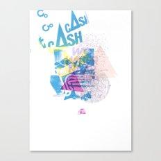 Cash Silk 001 Canvas Print