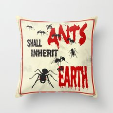 B-Movie Throw Pillow