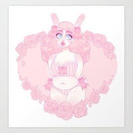 Bunny Baby Art Print