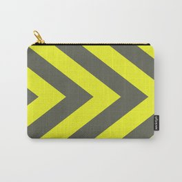 Chevrons warning sign Carry-All Pouch