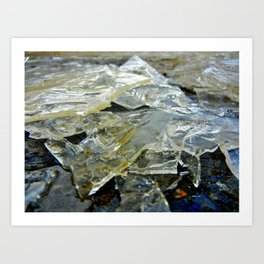 Shards Art Print