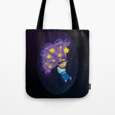Dreaming Girl Tote Bag
