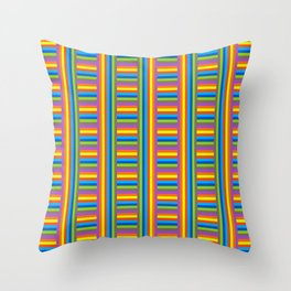 Colorama Pattern Throw Pillow