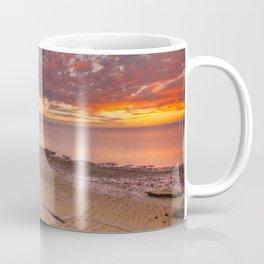 Sunset on the coast of Cape Range NP, Western Australia Coffee Mug