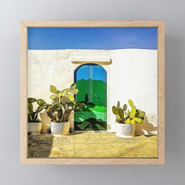 Typical house in Salento Framed Mini Art Print