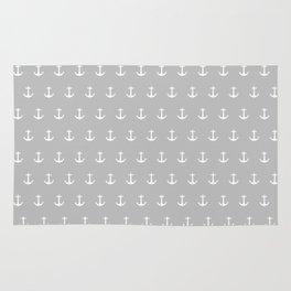 Anchor Print Rug