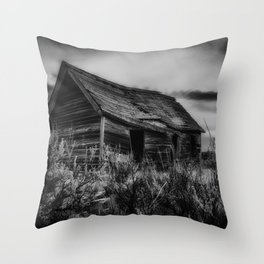 The Old Schoolhouse Throw Pillow