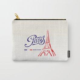 Eiffel Tower, Paris, France. Carry-All Pouch