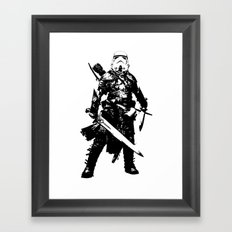 Fantasy Trooper Framed Art Print