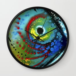 Tropical Fish - Colorful Beach Art By Sharon Cummings Wall Clock