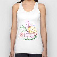 fruit Tank Tops featuring Fruit by pandaliondeath
