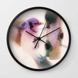 Blue Jay Wall Clock