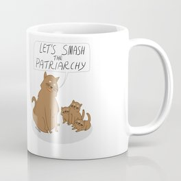 Let's Smash The Patriarchy Kittens Coffee Mug