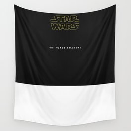 The Force Awakens, Vintage Poster, S tar wars, vintage movie poster Wall Tapestry