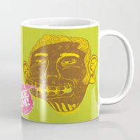 dreamer Mugs featuring Dreamer by Oga Mendonça
