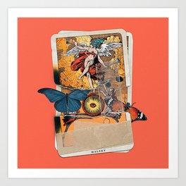 Tarot card - Bad at Love Art Print