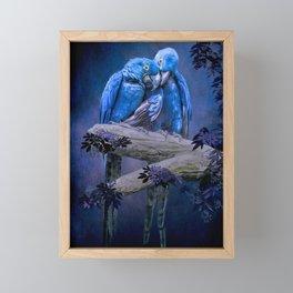 When I'm Feeling Blue Framed Mini Art Print