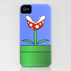 Minimalist Piranha Plant iPhone (4, 4s) Slim Case