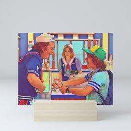 Ahoy Boys Mini Art Print