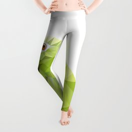 Parrot art Southern mealy amazon parrot Leggings