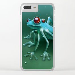 1+1=3 Clear iPhone Case