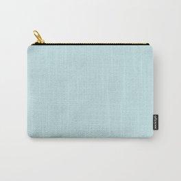 Powder Blue Soft Blush Solid Palette Pastels Décor Colour Blocks Carry-All Pouch