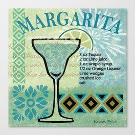 Margarita Canvas Print