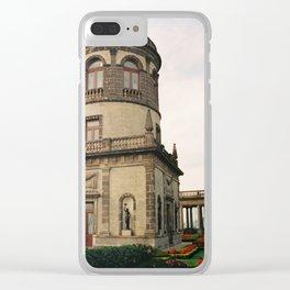 Rooftop Garden Chapultepec Castle CDMX 35mm Film Clear iPhone Case