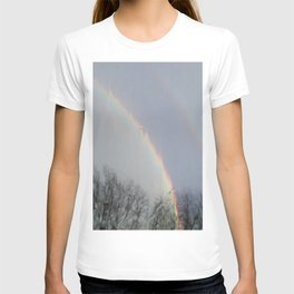 tow rainbows out there T-shirt