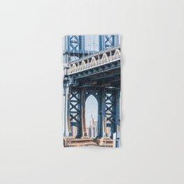 Manhattan Bridge Empire Blue Hand & Bath Towel