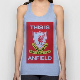 This is Anfield - Liverpool Classic Logo Unisex Tank Top