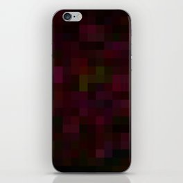 Re-Created Colored Squares No. 41 by Robert S. Lee iPhone Skin