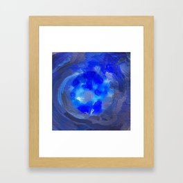 Abstract Mandala 238 Framed Art Print