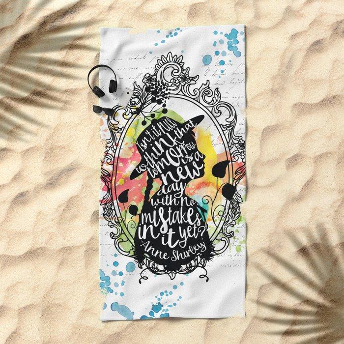 Anne Shirley - Tomorrow Beach Towel