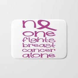 Breast cancer awareness Bath Mat