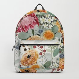 Fall Protea Bouquet Backpack