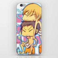 kuroko iPhone & iPod Skins featuring kuroko no basket by keiden