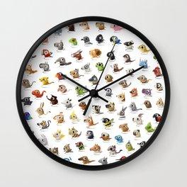 Marathon Animals Wall Clock