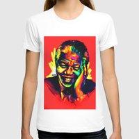 mandela T-shirts featuring Mandela by abinibi
