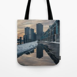 NYC relection Tote Bag