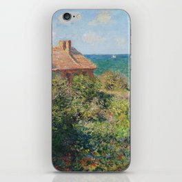 Fisherman's Cottage at Varengeville by Claude Monet iPhone Skin