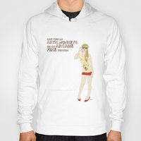 hipster Hoodies featuring Hipster by inusualstuff