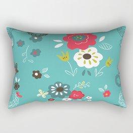 Butterfly floral Rectangular Pillow