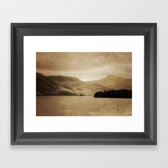 Lake George II Framed Art Print